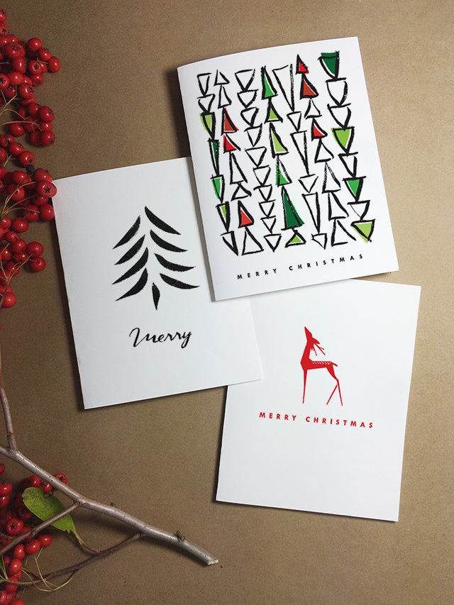 Printable Christmas Cards From e.m.papers