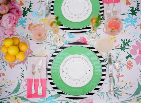 Kate spade floral table