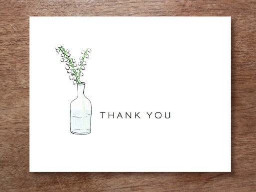 thank you card template from e.m.papers and stephanie levy