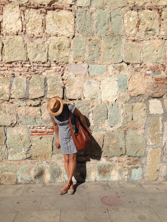 warm wall in oaxaca