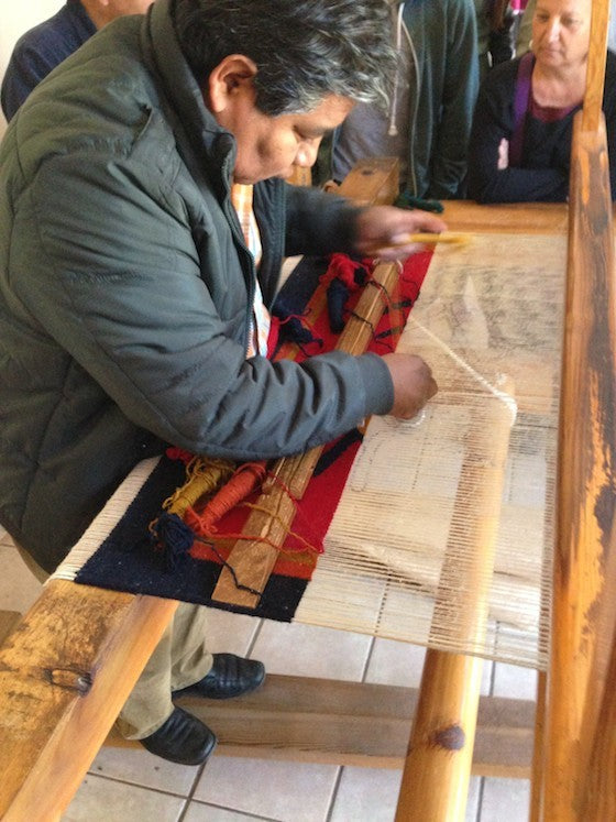 weaving in tenotitlan