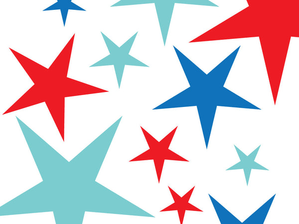 Printable Wrapping Paper - Old Glory