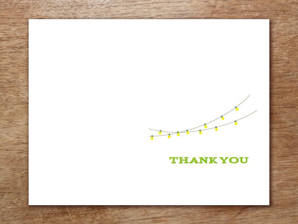 Printable Thank You Card - Garden Party