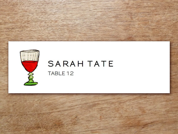 Printable Place Card - LeMayr
