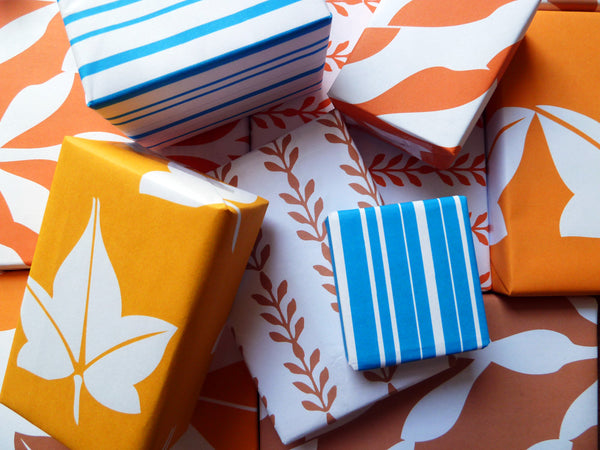 Printable Wrapping Paper - Autumn