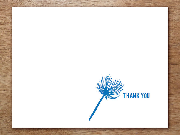 printable thank you card bluebell e. Black Bedroom Furniture Sets. Home Design Ideas