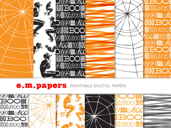 Printable Wrapping Paper - All Hallows