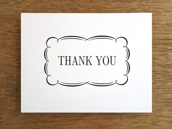 Printable Thank You Card - Flourish