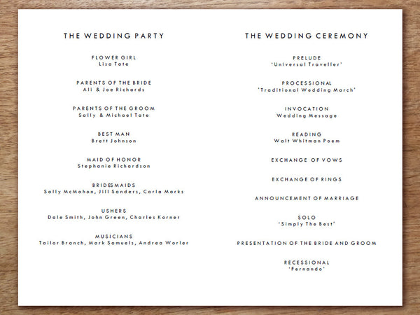 picture about Printable Wedding Programs named Printable Marriage ceremony Software package - Gold Dots