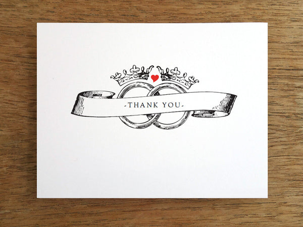 Printable Thank You Card - Kate and Wills