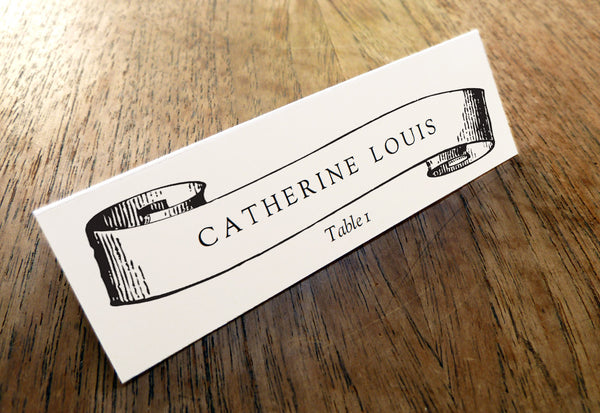 Printable Wedding Place Card - Kate and Wills