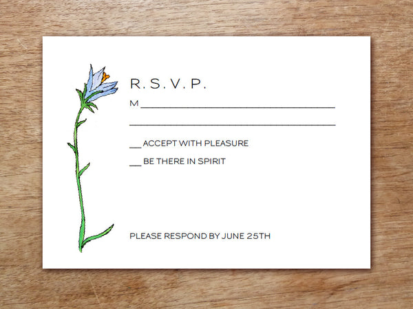 Printable Wedding RSVP Card - LeMayr