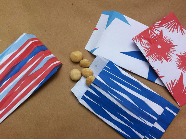 Printable Wrapping Paper - 4th of July crafts
