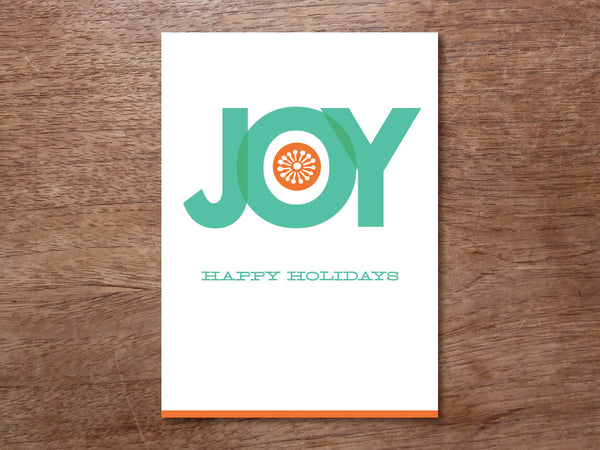 Printable Christmas Card - Big Joy