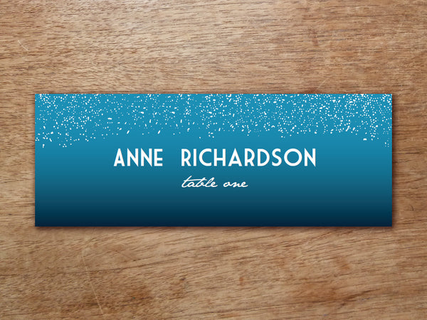 Printable Place Card - Starry Night