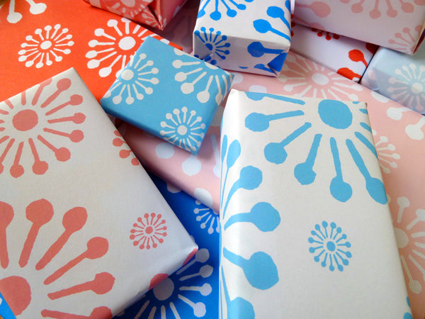 Printable Wrapping Paper - Sunburst