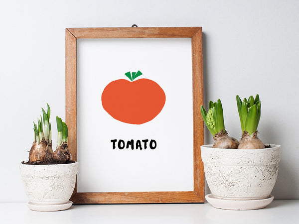 Printable Kitchen Wall Art - Tomato