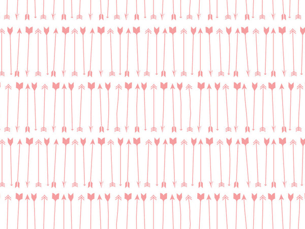 Printable Wrapping Paper - Valentine Arrows
