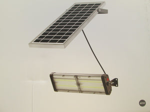 4000 Lumen Bright Solar Light with Separate Solar Panel / Stays on Bright all Night!