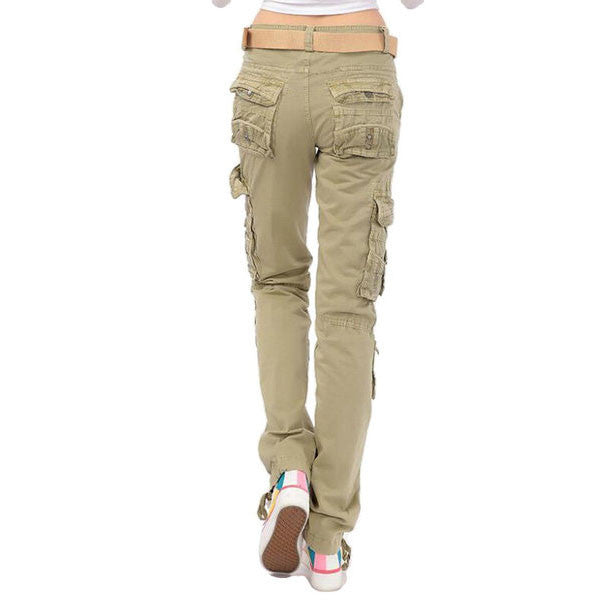 f0f0daf6d3c23 ... Lixmee Women S Solid Color Regular Cargo Pants - Lixmee ...