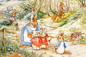 Peter Rabbit & Family