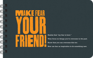 Make fear your friend book page