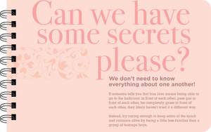 Newlywed can we have some secrets page