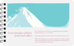 Newlywed your marriage will have peaks and valleys page