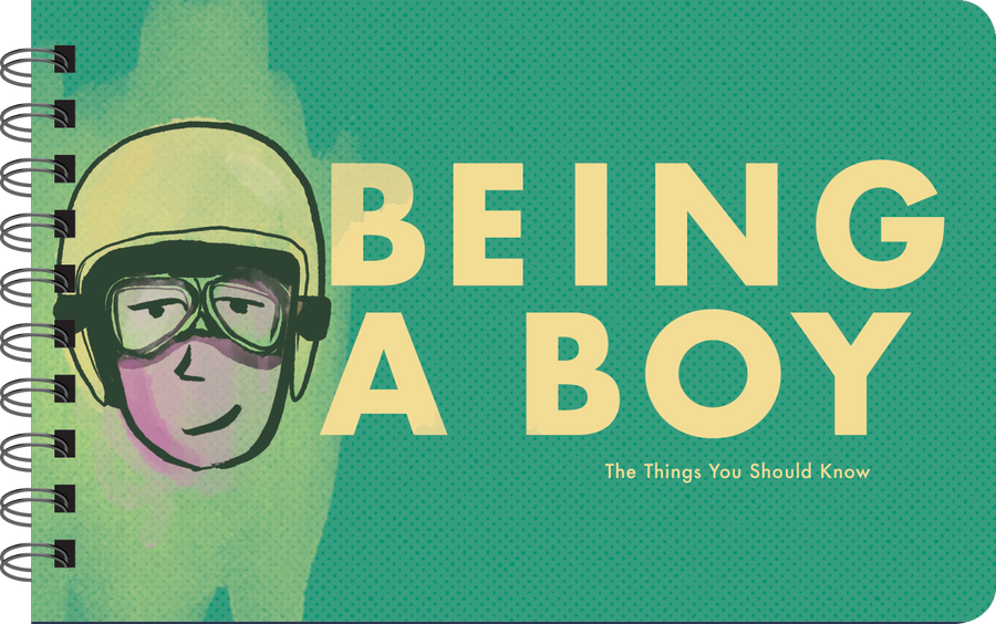 Being a Boy inspirational book cover art