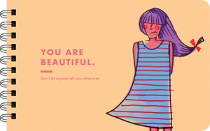 "Being a Girl ""you are beautiful"" page"