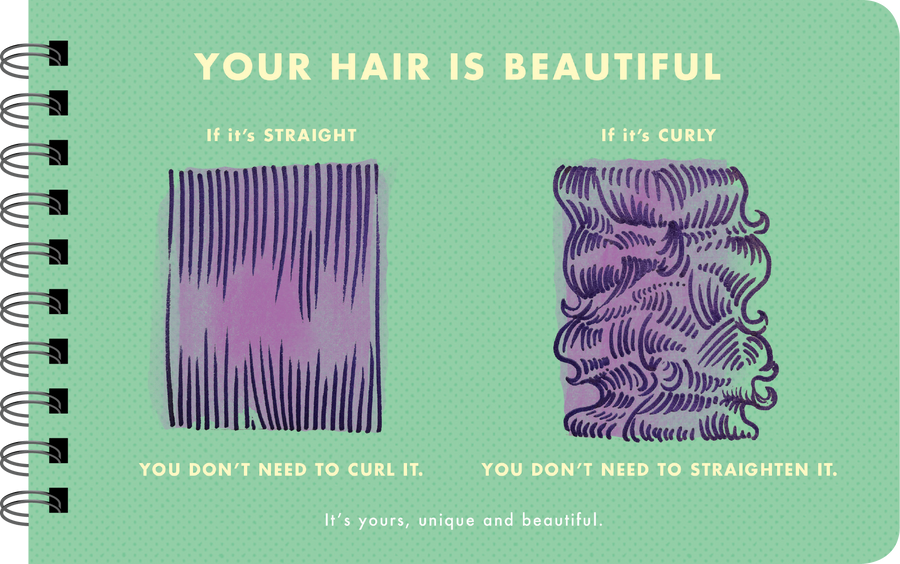 "Being a Girl ""you hair is beautiful"" page"