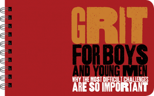 Grit for Boys boy power book cover art
