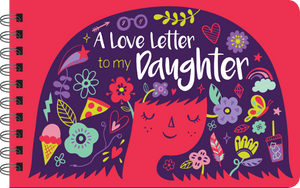 A Lover Letter to My Daughter book cover art