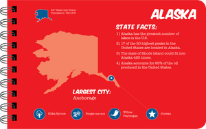 Alaska overview book page