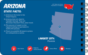Arizona overview book page
