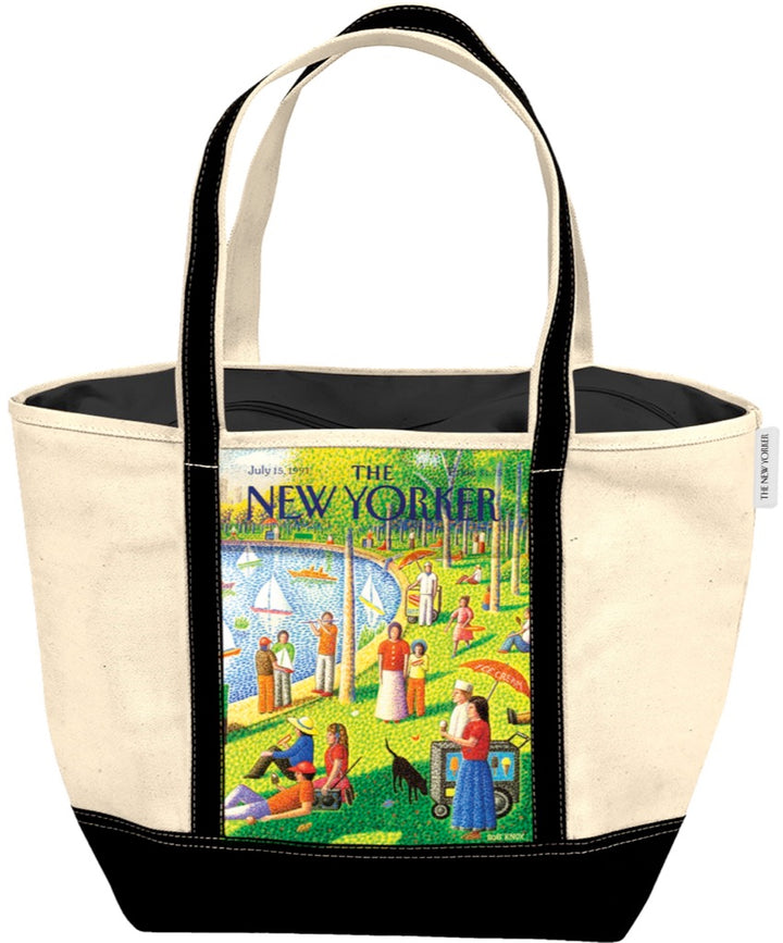 Sunday Afternoon in Central Park Tote