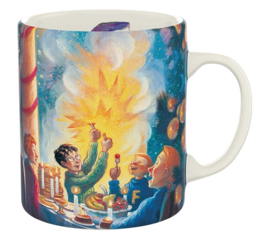 Christmas at Hogwarts Mug