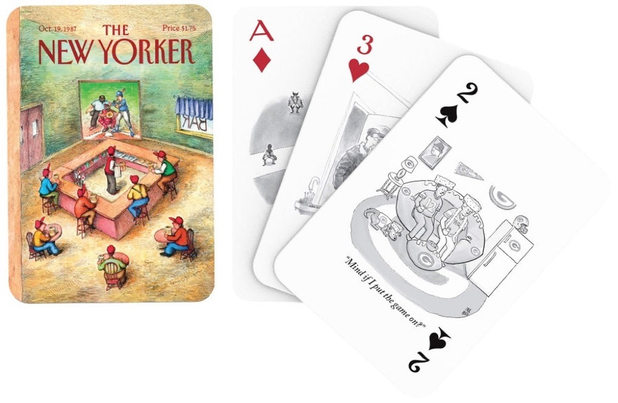 Sports Cartoons Playing Cards