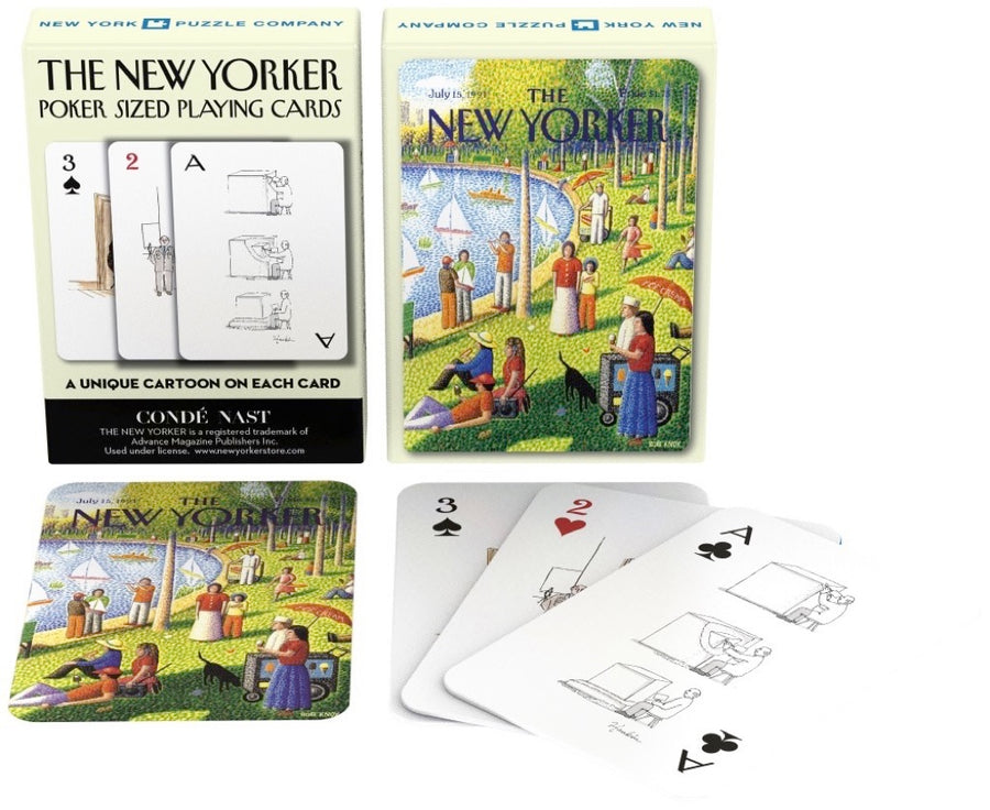 Fine Arts Cartoons Playing Cards