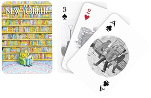 Book Lover Cartoons Playing Cards