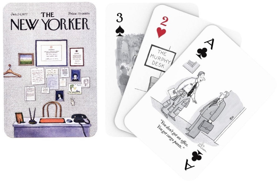 Business and Office Cartoons Playing Cards