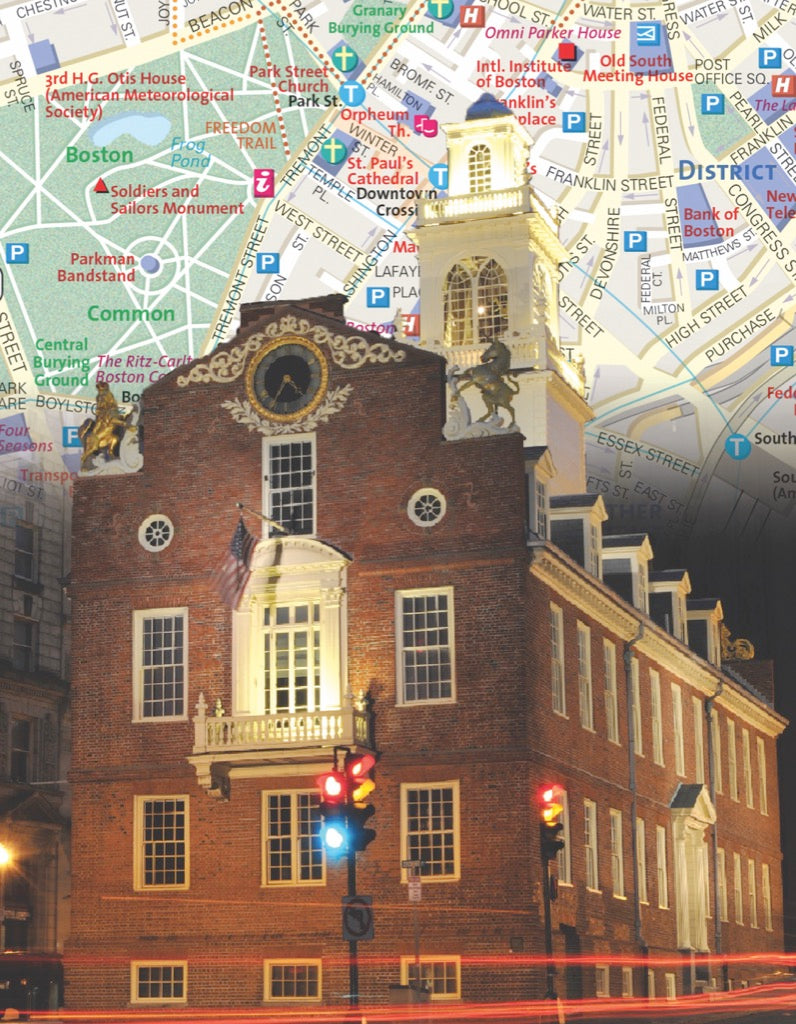 Boston City Map Mini