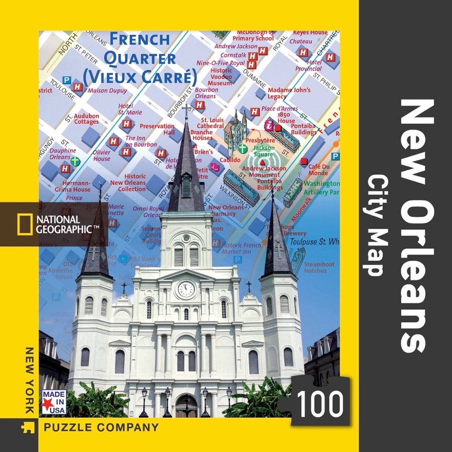 New Orleans City Map Mini