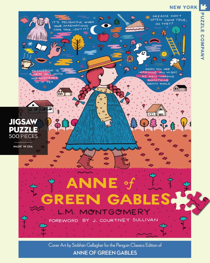 Anne Of Green Gables New York Puzzle Company