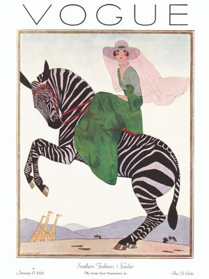 Lady on a Zebra