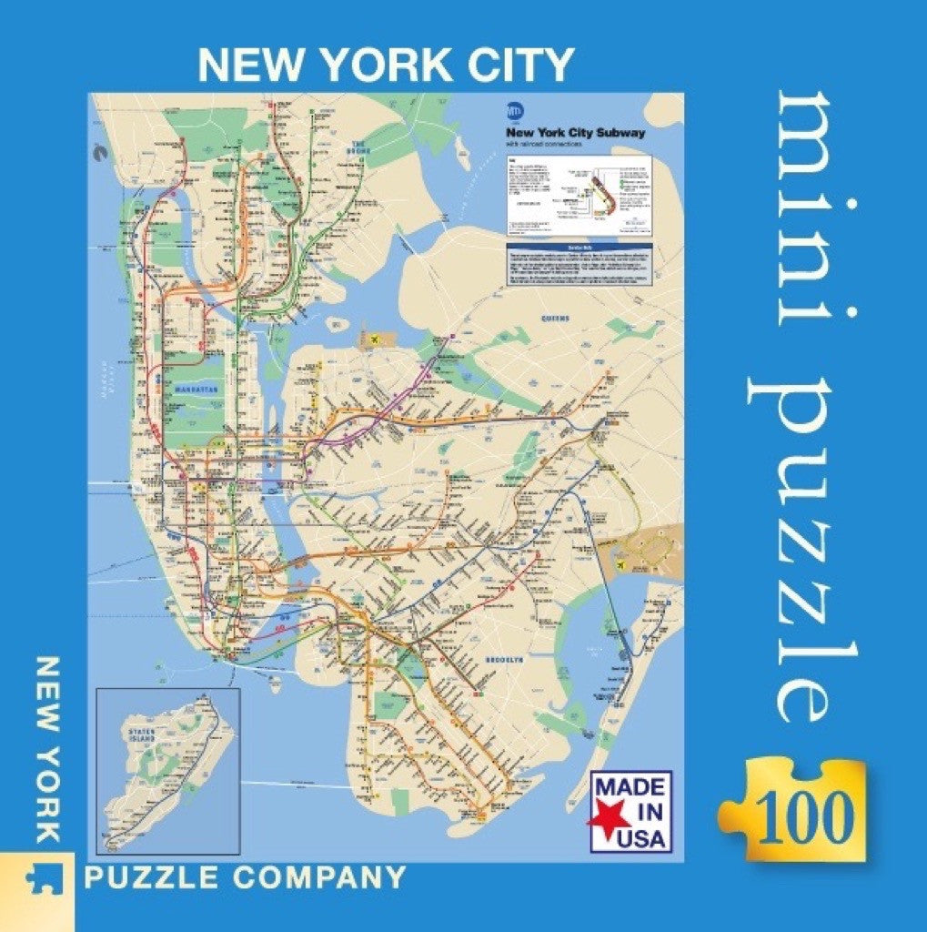 Nyc Subway Map Full.New York Subway Map Mini