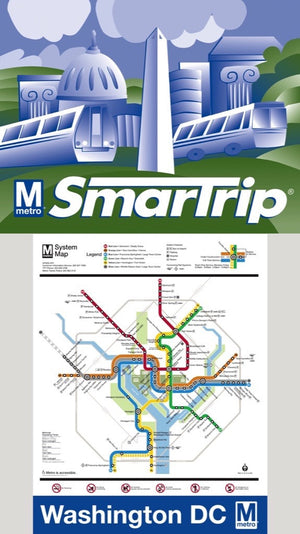 DC Metro Map Mini