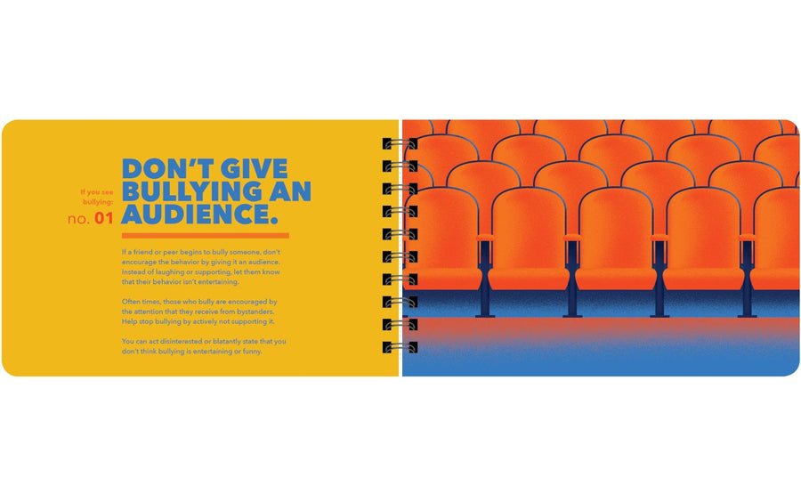 don't give bullying an audience book page