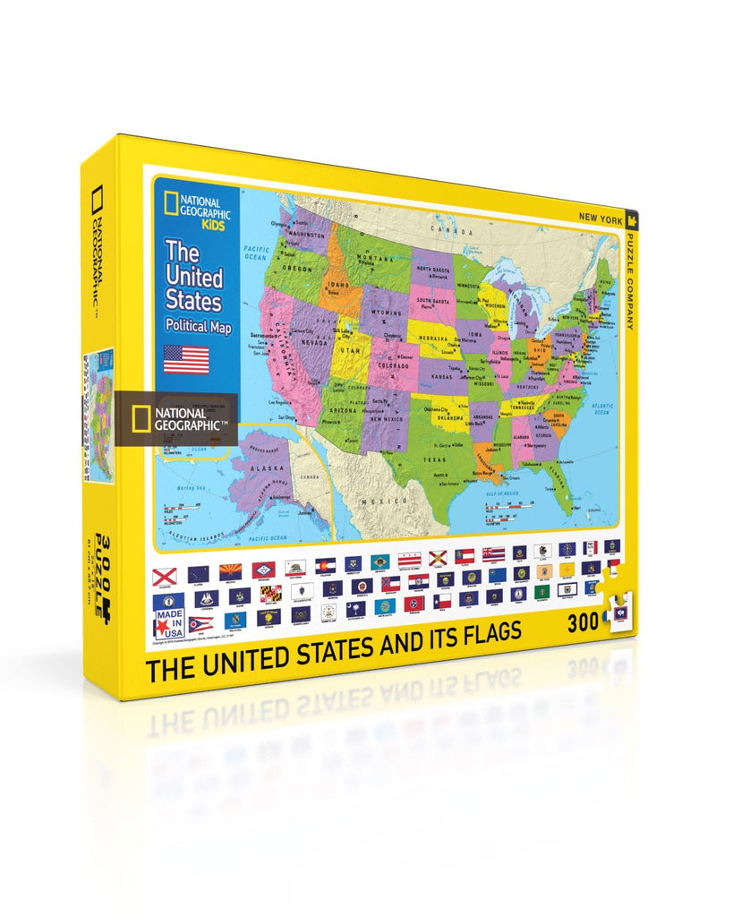 The USA Kids Map