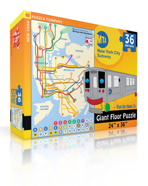 New York Subway Map Kids